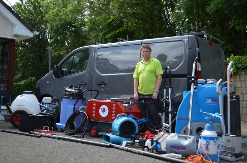 flying monty solutions cleaning equipment with john oreilly